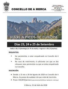 Viaxe a Picos de Europa
